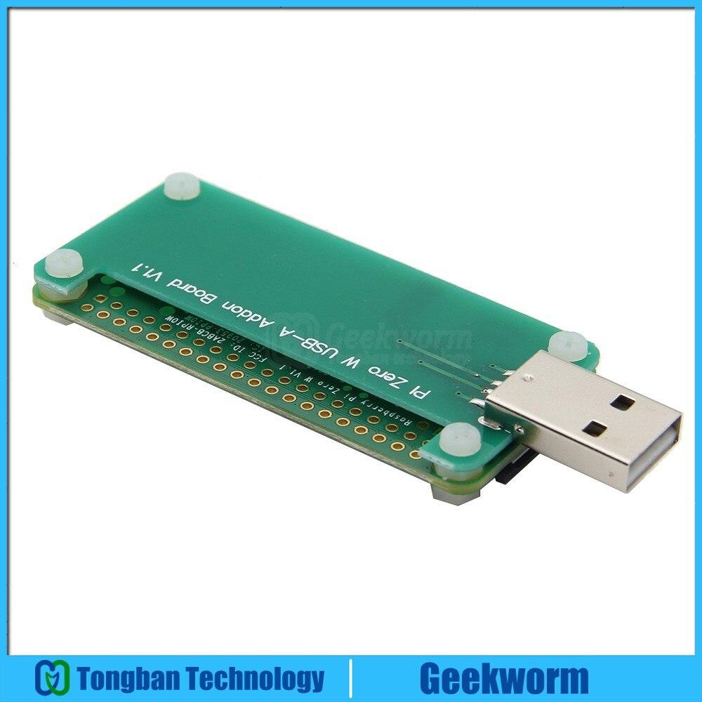 Raspberry Pi Zero W Wireless Kit BadUSB USB A Addon Board Raspberry Pi Zero W Mother