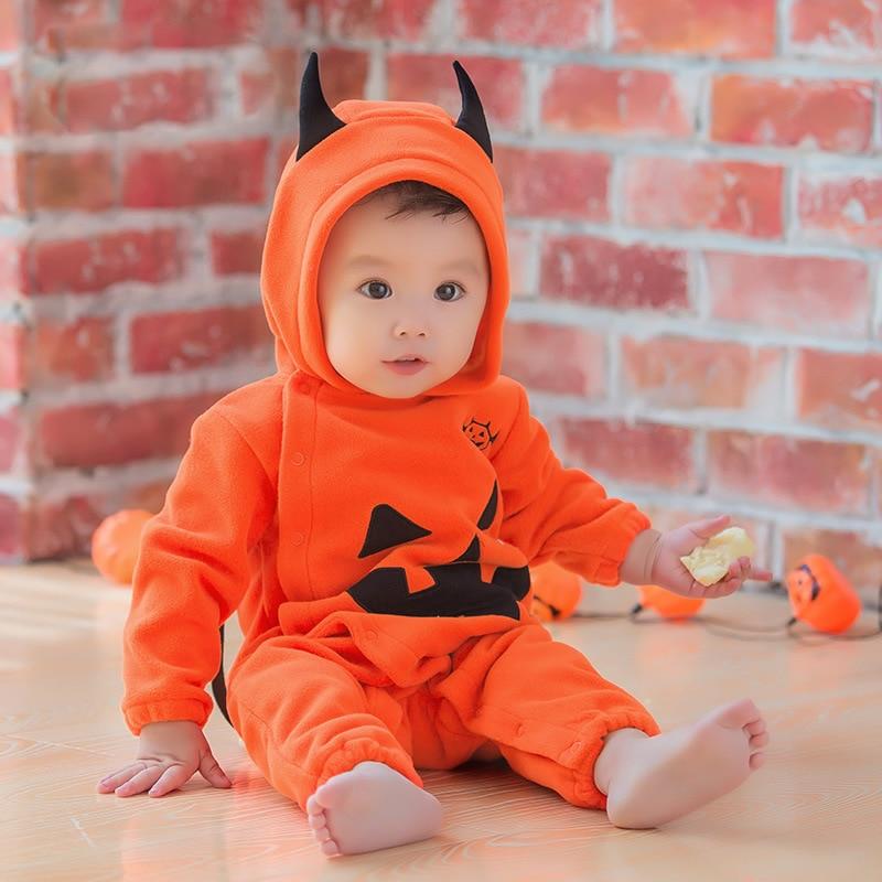 Newborn Kids Baby Boy Girls Halloween Romper Jumpsuit Bodysuit Clothes Outfits winter newborn Infant Baby Boys Girls Halloween цена