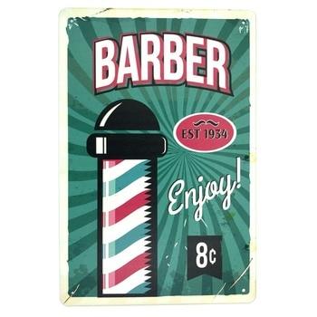 Vintage barber shop decoration hai