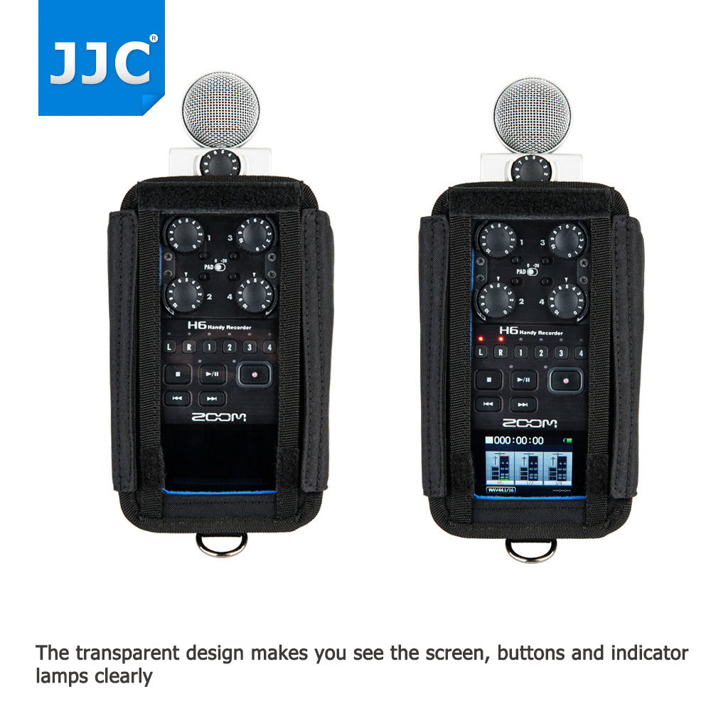 Zoom H6 Recorder Jjc Record Protector Holder Soft Case Handy Recorder Pouch Bag For Zoom H6