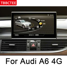 For Audi A6 4G 2011~2018 MMI Car Android original style GPS Navigation radio stereo multimedia player DSP HD touch screen WIFI