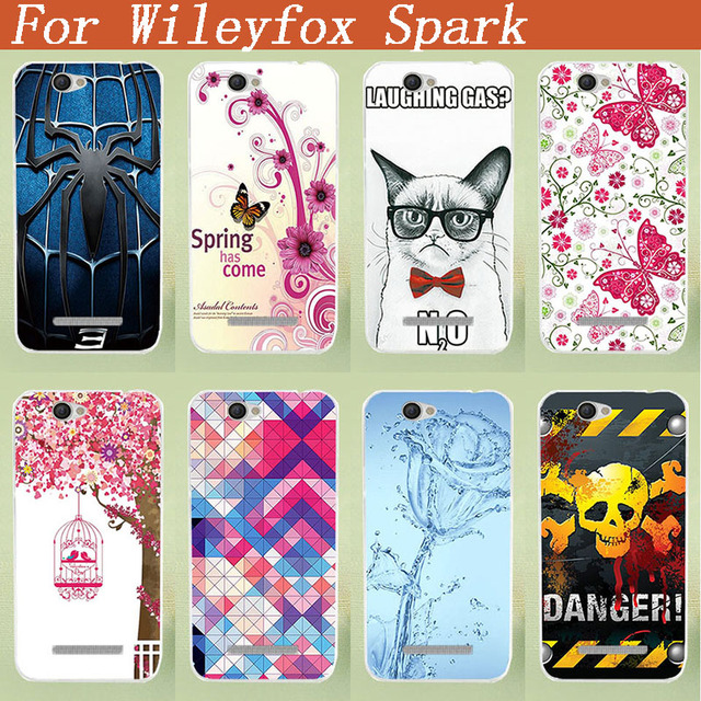 For Wileyfox Spark Painted Case Cover Diy Painting Phone Case