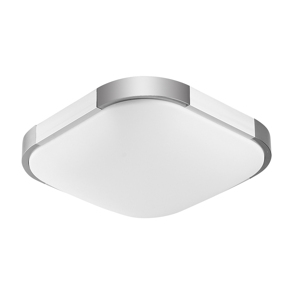 2Pcs LED Ceiling Light 300X300 12W Remote Control Cold Warm White AC100-240V Faceplate Ceiling Lamp Home Office Decoration kinfire circular 6w 420lm 6500k 30 x smd 3528 led white light ceiling lamp w driver ac 85 265v