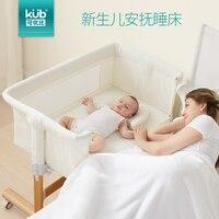 Kub Доступное соотношение Твердые Детские кроватки Новорожденные прикроватные Multi function портативный складной детская кроватка