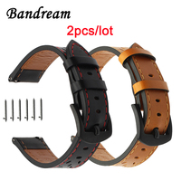 Italian Genuine Leather Watchband For Samsung Gear S3 Classic Frontier R760 R770 Watch Band Quick Release