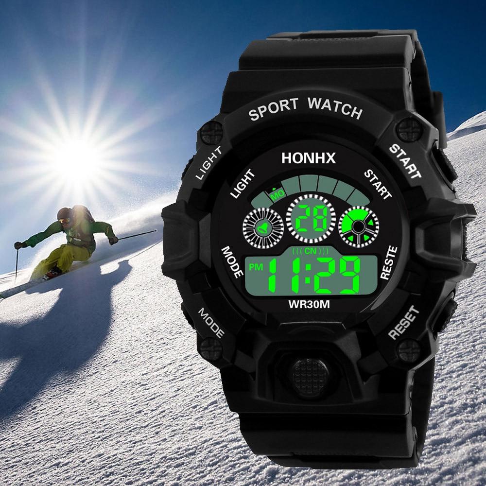 #5001 Leisure Man Analog Digital Military Army Sport LED Waterproof Wrist Watch