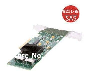LSI00194 LSI SAS 9211-8I Internal SATA/SAS 6Gb/s PCI-Express 2.0 RAID Controller Card-Single 1 Year Warranty sas festplatte 300gb15ksas6gbpslff f617n