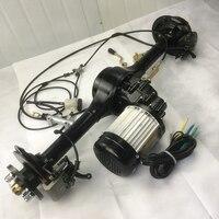 48V 60V 72V 500W 650W 800W 1000W 1200W Electric rear axle Motor Cars Electric Motor For Car Electric Rickshaw DC Separate Motor