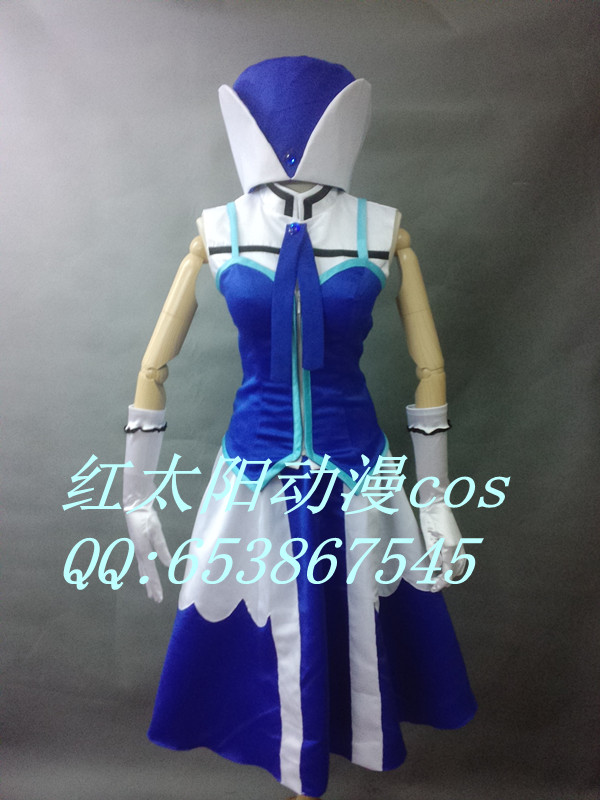 FAIRY TAIL Juvia Lockser Cosplay Costume Custom Made
