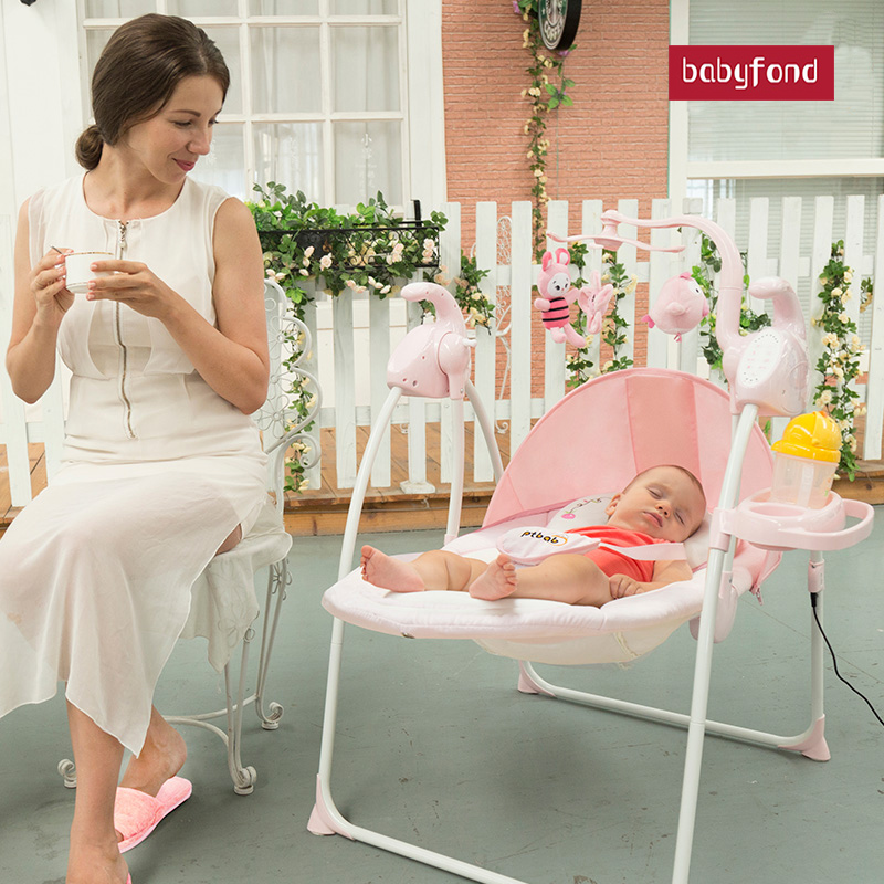 Multifunctional baby electric shaker baby electric cradle bed super load-bearing skin-friendly fabric baby shaker Multifunctional baby electric shaker baby electric cradle bed super load-bearing skin-friendly fabric baby shaker