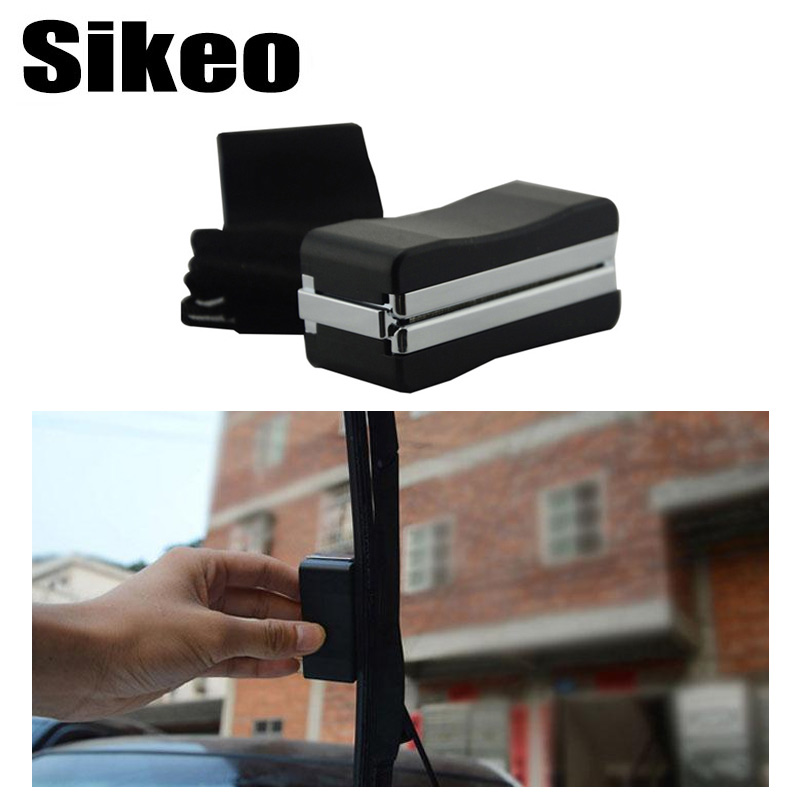 Sikeo Universal Auto Car Vehicle Windshield Wiper Blade Refurbish Repair Tool Restorer Windshield Scratch Repair Kit Cleaner(China)