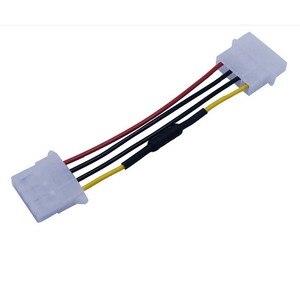 Image 1 - ใหม่4 Pin Molexคอมพิวเตอร์PCพัดลมความเร็วลดเสียงรบกวนต่ำสายไฟอะแดปเตอร์อะแดปเตอร์
