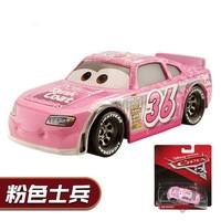DISNEY PIXAR 3 Alloy Pink Soldir Cars Model DXV29 Toy CARS Car King Lightning McQueen McKowan