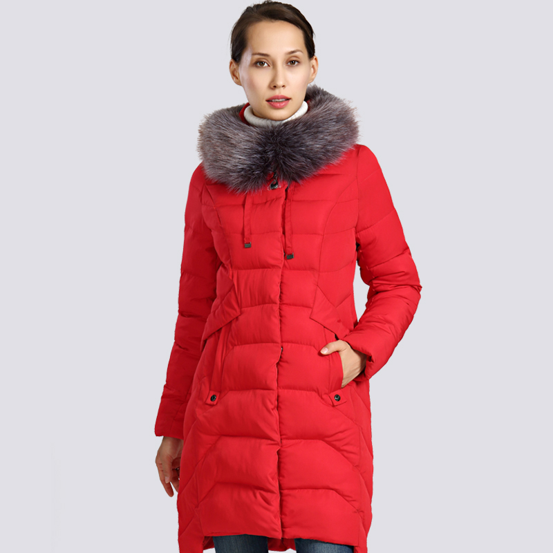 2019 New Winter Jacket Women Plus Size Fur Collar Long Womens Winter Coat Thick High Quality Warm Down Jackets   Parka   Outwear