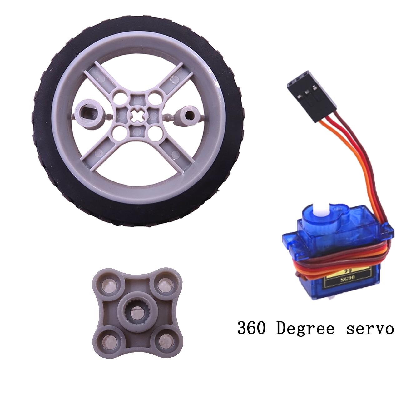 SG90 Power Kit 9G 360 Degree Continuous Rotation Servo With Servo Wheel DIY Kit