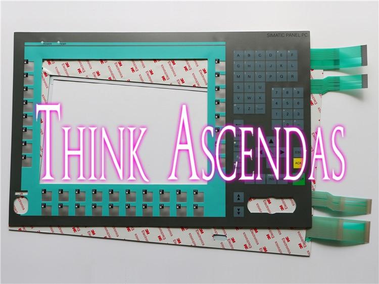 1pcs New SIMATIC Panel PC877 PC877-12 / PC677 PC677-12 6AV7800-0BB10-1AC0 6AV7800-0BB10-1AC0 Membrane Keypad new membrane keypad for simatic panel pc 670 12 6av7612 0ab22 0bf0 6av7 612 0ab22 0bf0 6av76120ab220bf0 pc670 12 freeship