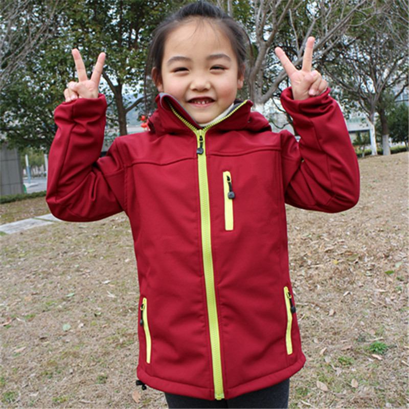 Kids Softshell Toddler Baby Boy Girl Jacket Coat Clothes Spring minnie Children outerwear Jackets Windbreaker Waterproof blazer