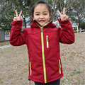 Kids Softshell Hiking Jackets Boy Girl Sport Coat Clothes For Children Outerwear Windbreaker Waterproof Costume Blazer Clothing