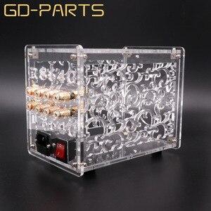 Image 4 - Transparent Acrylic Chassis Enclosure For FU32 Vacuum Tube Amplifier Preamplifier Case Box Vintage Hifi Audio DIY 1 Set