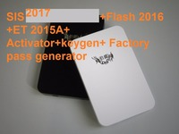 SIS 1 2017 Flash 2016 ET 2015A Activator Keygen Factory Pass Generator HDD500GB For Cat