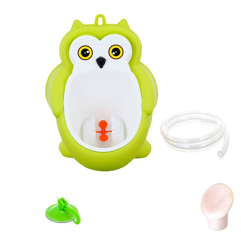 Baby boy Urinal Pee Frog and Owl baby toilet training Colored Children Potty Baby Urine Groove PP hooked Urinal for kids (7)