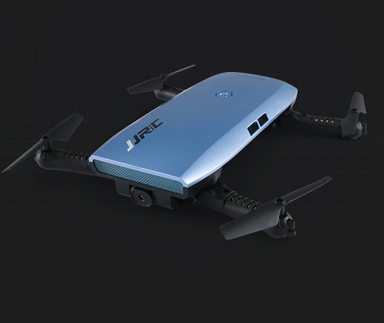JJRC H47WH ELFIE Foldable Drone With WIFI Camera FPV Drone 4CH RC Quadcopter G-sensor Altitude Hold RTF foldiing dron jjrc h49 sol ultrathin wifi fpv drone beauty mode 2mp camera auto foldable arm altitude hold rc quadcopter vs e50 e56 e57