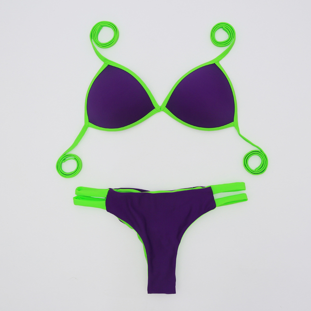 Bow Knot Thong Bikini