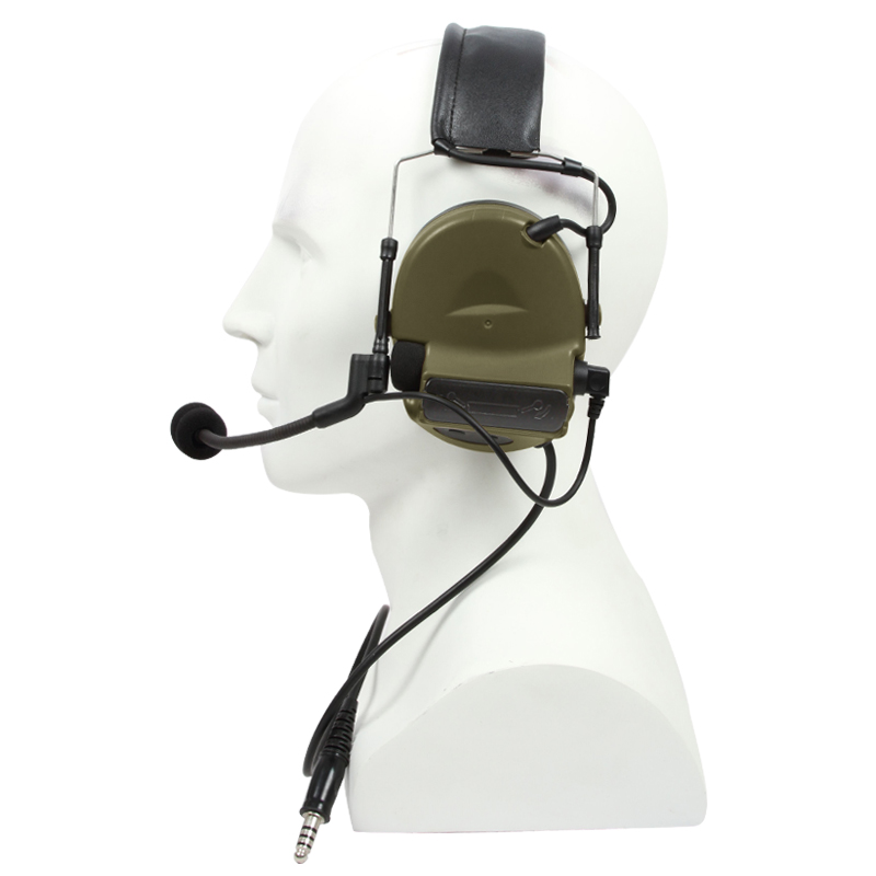 Image 5 - TAC SKY COMTAC II silicone earmuffs outdoor tactical hearing defense noise reduction pickup military headphones FG-in Walkie Talkie Parts & Accessories from Cellphones & Telecommunications
