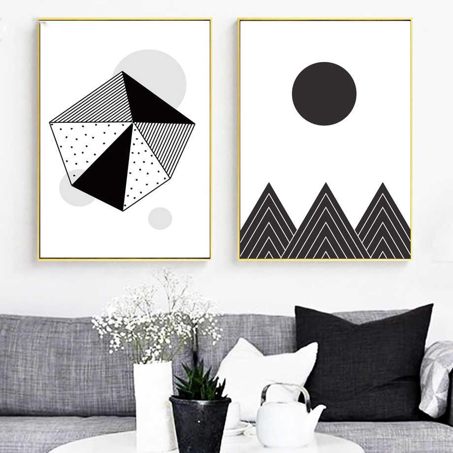Современные плакаты на скандинавскую тему книги по искусству печати геометрический форма узор хиппи собака Акварельная живопись Детская комната украшения