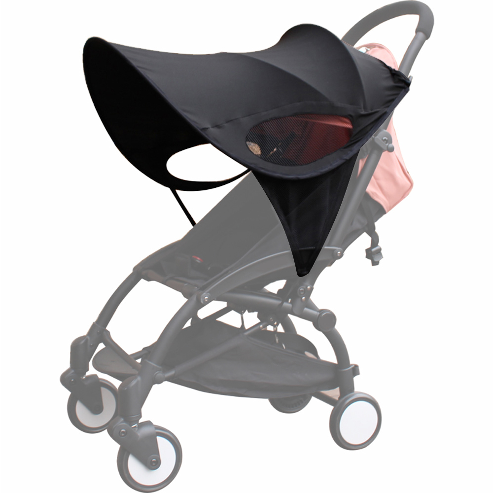 Baby Plus Buggy Us 11 88 Baby Stroller Sunshade Canopy Cover Compatible For Babyzen Yoyo Plus Yoya Strollers Prams Accessories In Strollers Accessories From