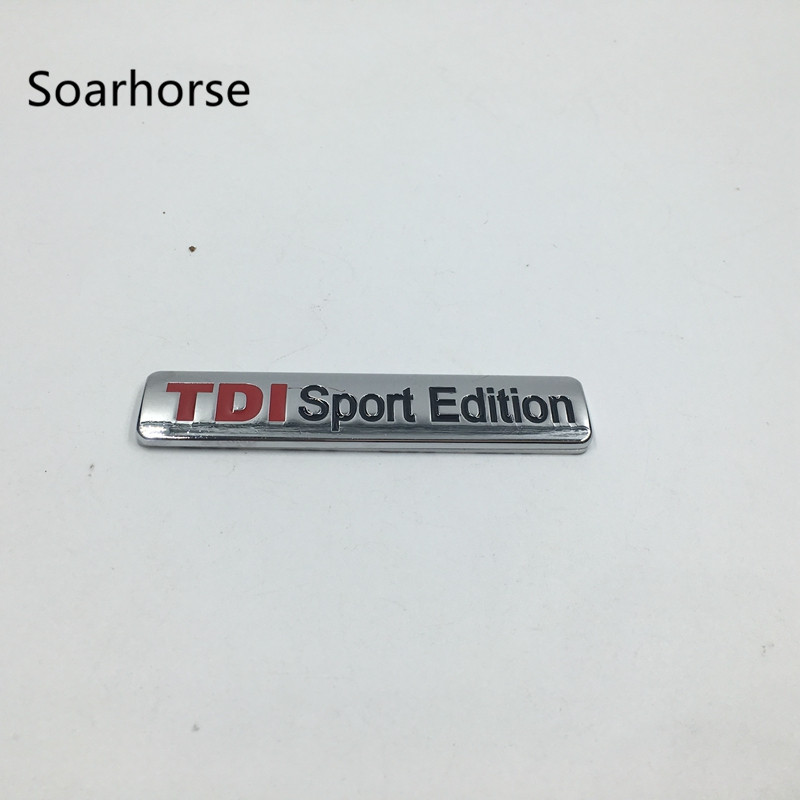 Tdi Sport Edition Badge Emblem Auto Badges Xmas