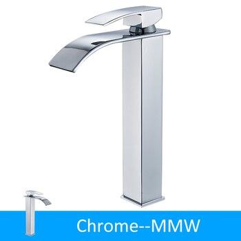Black Bronze Waterfall Basin Faucet Bathroom Sink Water Tap Single Handle Hot Cold Water Mixer Tap Bathroom Torneiras Crane Tap 7