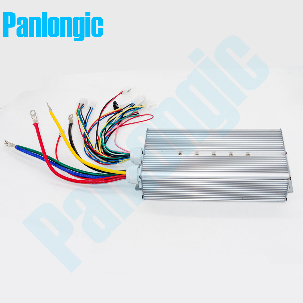 Panlongic 48-60V 2000W 2KW Electric Bicycle E-bike Scooter Brushless Controller Hub Motor BLDC Motor Controller 24 MOFSET hub motor 60v 2000w central drive high speed bldc motor 5500rpm electric bicycle brushless velo motor e scooter bike wheel motor