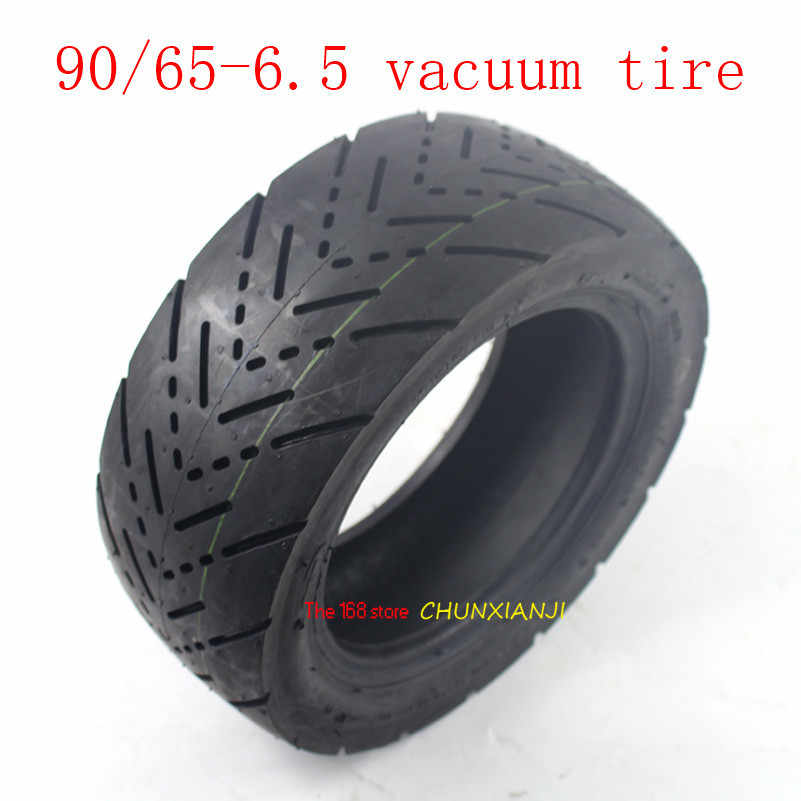 Lightning shipment 11 inch vacuum tyre Electric scooter refitted 11 inch 90/65-6.5 thick tire outer tire tubeless Road tire