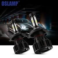 Oslamp Headlight Bulb H4 Led 72W 8000LM COB Chips LED H4 Hi Lo Car Headlight Bulbs