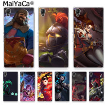 MaiYaCa LOL, League of Legends Pattern Luxury Shell Original Case for Sony Z2 Z3 Z4 Z5 Z5c for LG G3 G4 G5 for MOTO G Cover(China)