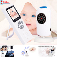 HYBON Security Baby Monitor Two way Talk Baby Nanny Security Camera Night Vision Temperature Monitoring Baby Camera Monitor