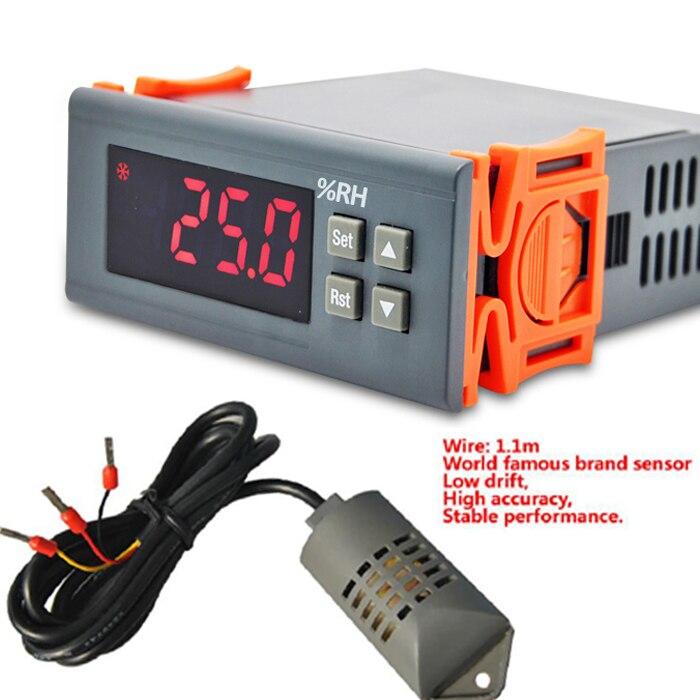 220V 110V 12V 30A Dehumidification Humidification Universal intelligent digital humidity controller with extraposition sensor