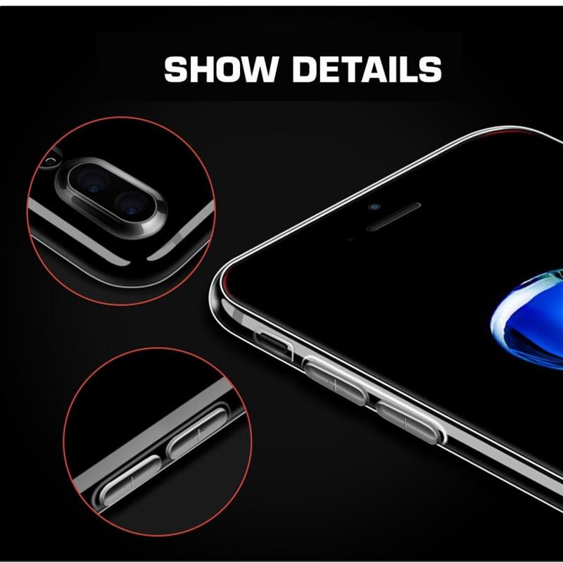 IPhone X XS 11 üçün ən yüksək keyfiyyətli silikon qutu 7 7 6 - Cib telefonu aksesuarları və hissələri - Fotoqrafiya 4