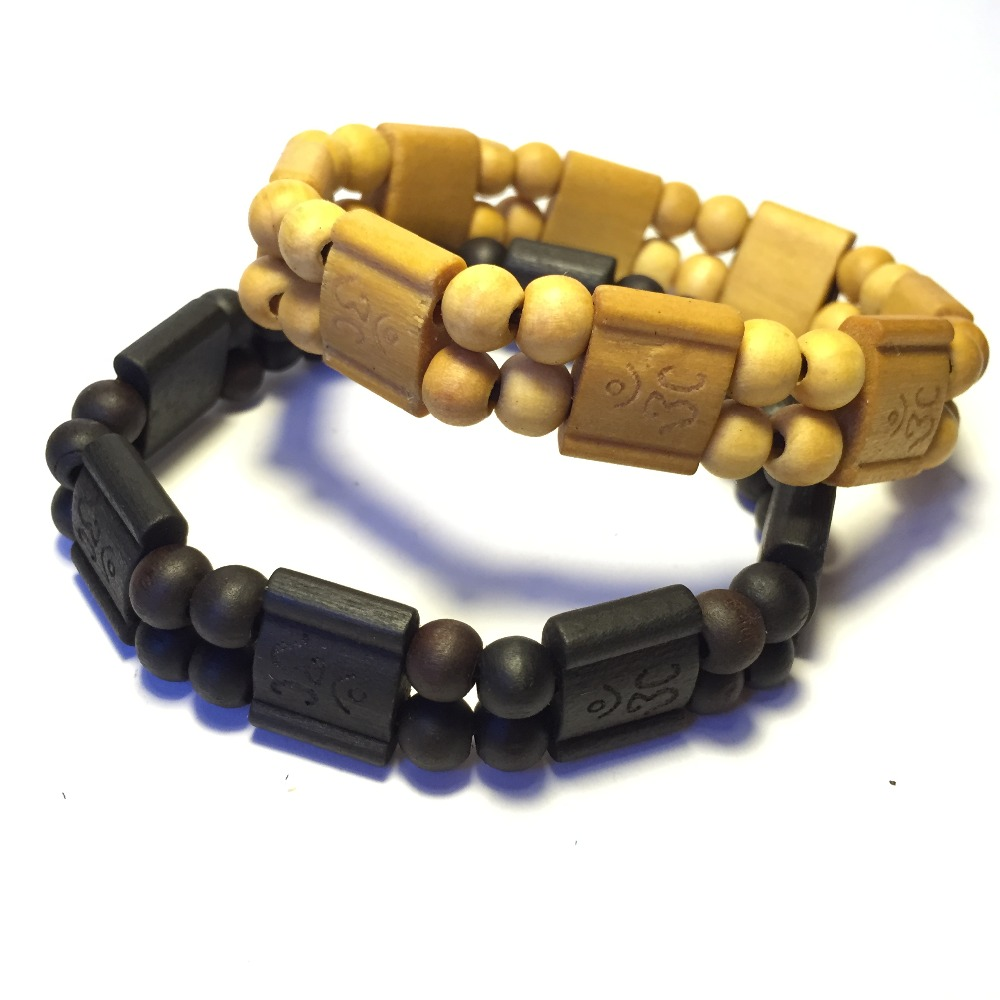 Buddhist Tibetan Decor Prayer beads Natural Handmade Bracelet Bangle - Fashion Jewelry - Photo 3