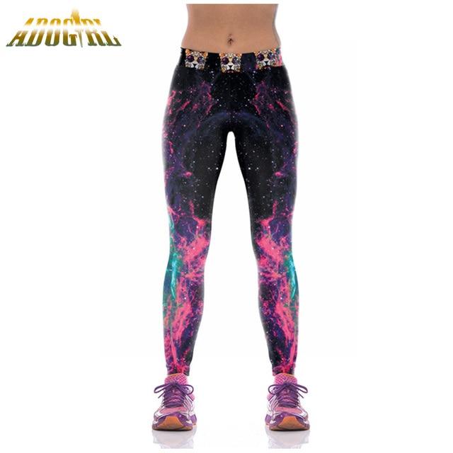 Adogirl Leggings Fitness For Women Clothing Print Leggings Sportswear Pants 3D Printing Calzas Deportivas Mujer Ropa Deportiva