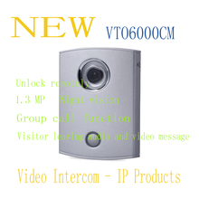 Free Shipping DAHUA IP Products Video Intercom Villa Outdoor Station Original English Version Without Logo VTO6000CM