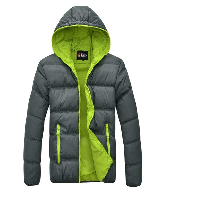 2016 yeni erkek gelgit sıcak kış coat erkek kapşonlu erkekler coat kış ceket