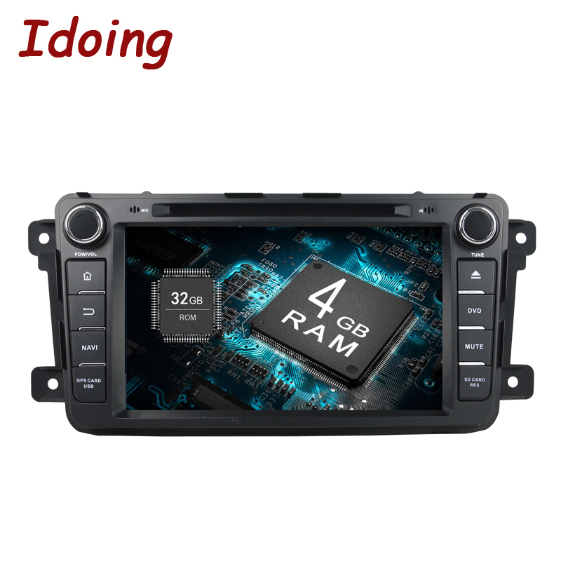Idoing 2Din Android8.0 For Mazda CX9 Car DVD Player 8GPS Navigation 4G+32G Phone Link Bluetooth RDS Car Radio Fast Boot