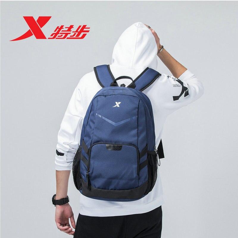 881137119002 Xtep Унисекс Рюкзак 2018 лето новый кампус студент сумка Камуфляж сумка для ноутбука