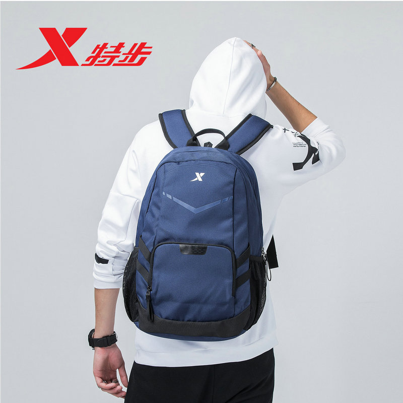 881137119002 Xtep Unisex backpack 2018 summer new campus student bag camouflage notebook bag
