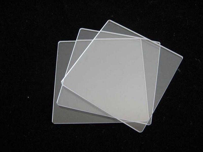 Ясно кварцевая пластина в размер 150