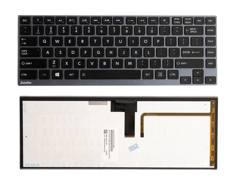 OEM Toshiba U800 U900 U920 U840 Z830 Z835 Z930 US Backlit Keyboard W//Frame NEW