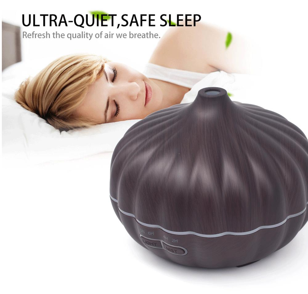 Essential Oil Diffuser Aromatherapy Pumpkin Shape Ultrasonic Aroma Cool Mist Humidifier for Office Bedroom Baby Room SPA YOGA fun egg cartoon aromatherapy essential oil diffuser led lights ultrasonic cool mist aroma air humidifier for office baby bedroom