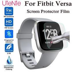 Ультратонкая Защитная пленка для Fitbit Versa smart watch из закаленного стекла Защитная пленка для экрана Запасные части